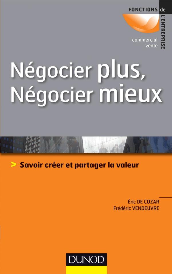 Negocier Plus Negocier Mieux Editions Dunod